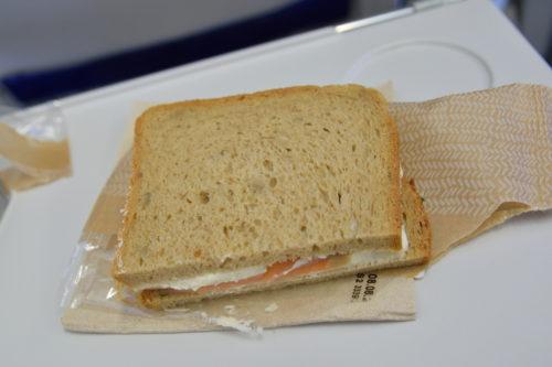 ルフトハンザ航空の軽食