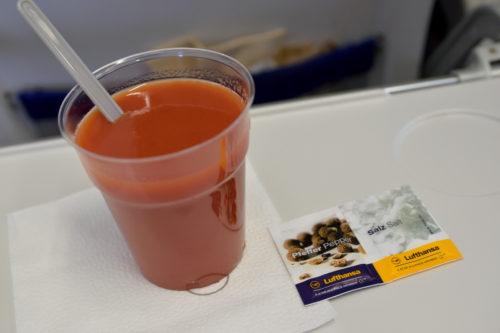 ルフトハンザのトマトジュース