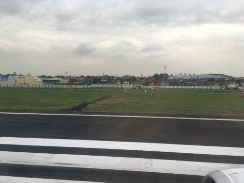 マニラ空港の滑走路