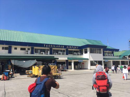 タグビララン空港の空港建物