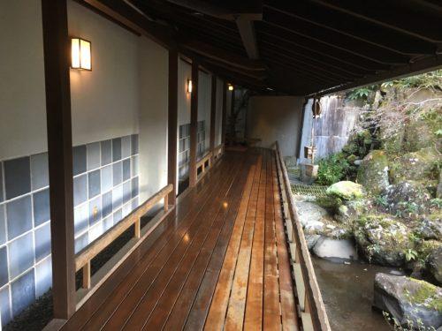 白壁荘の外廊下