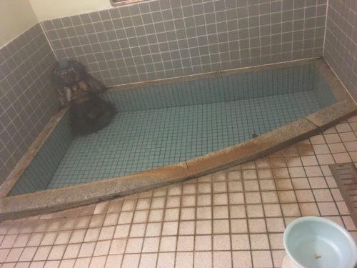 唐沢屋旅館の浴場