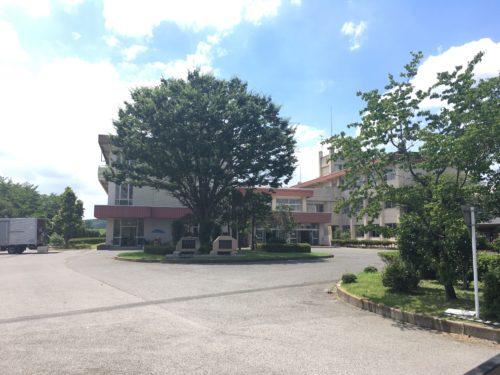 旧足利西高校の本校舎