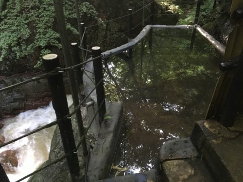 仙人岩風呂の浴槽