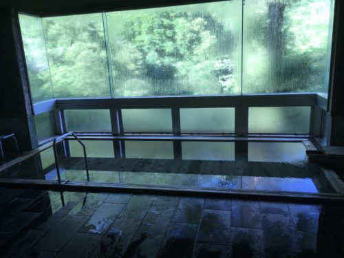 風景館の大浴場