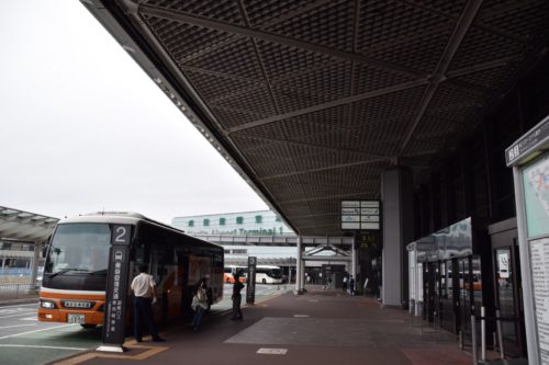 成田空港バス到着ターミナル