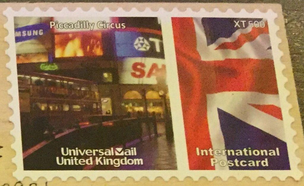 エアメール用の切手