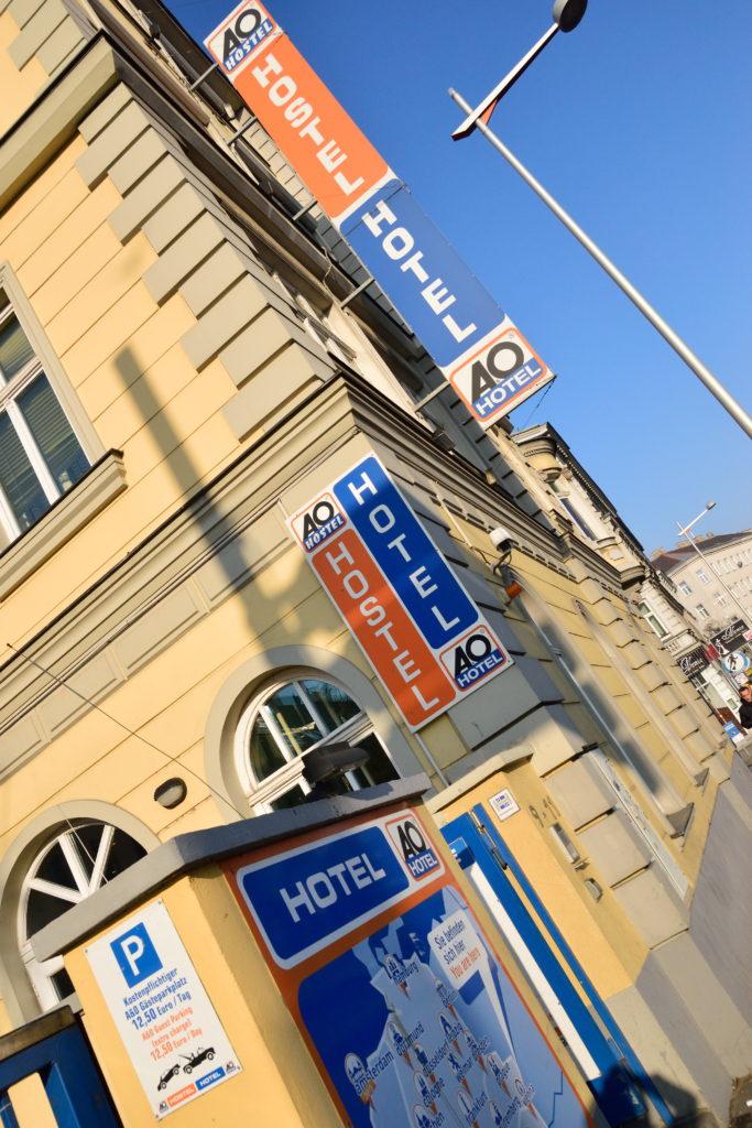 ウィーンのA&Oホステル
