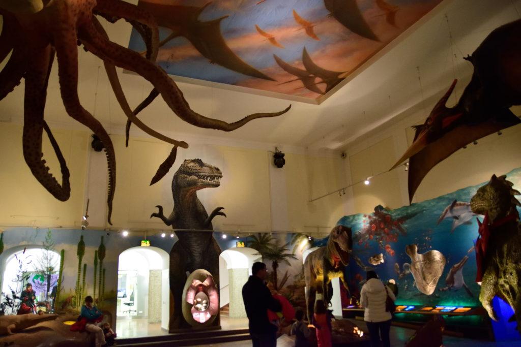 ザルツブルク自然博物館、恐竜コーナー