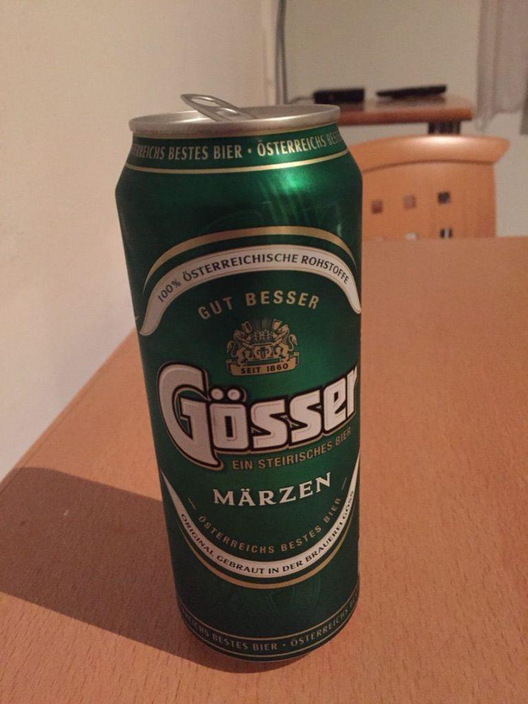 ザルツブルクの、柑橘系のビール