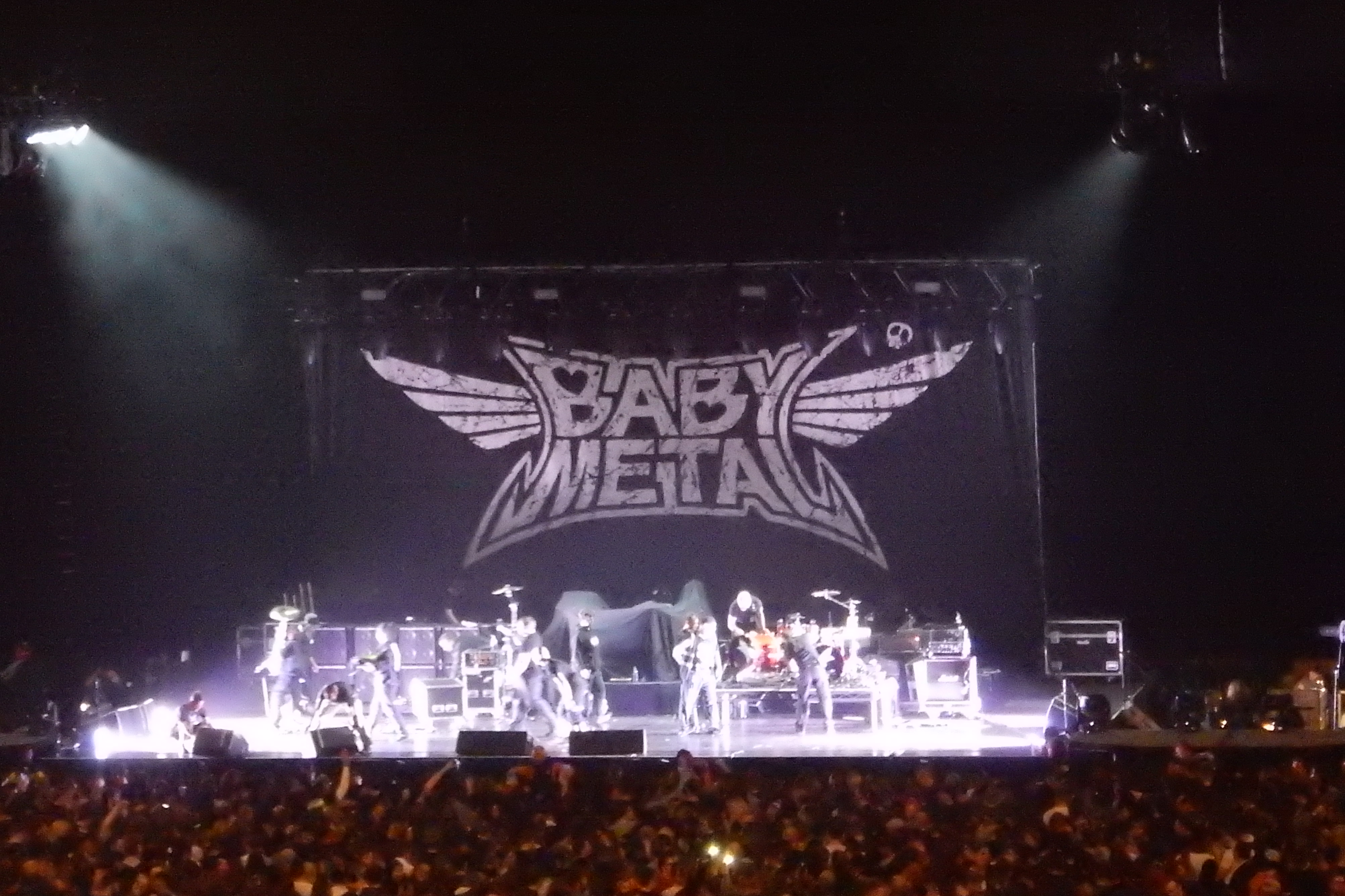2016/12/5 BABYMETAL~RHCP UK tour@London O2~