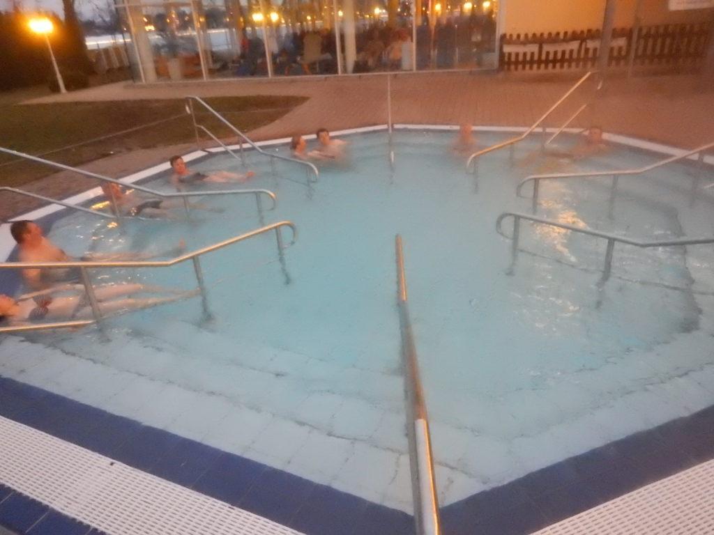 ドイツの露天風呂