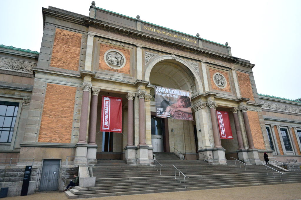 コペンハーゲン国立美術館外観