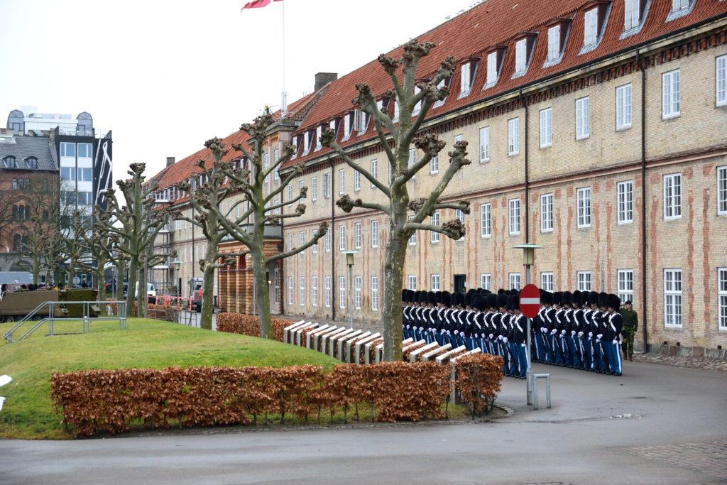 コペンハーゲンの衛兵交代式
