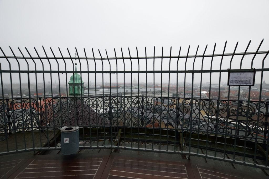 ラウンドタワー最上部からの眺め