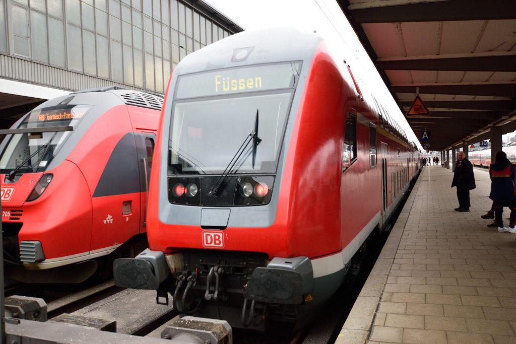 フュッセン行き地域鉄道