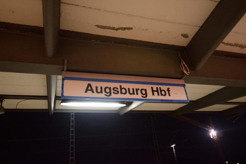 アウグスブルク、駅名