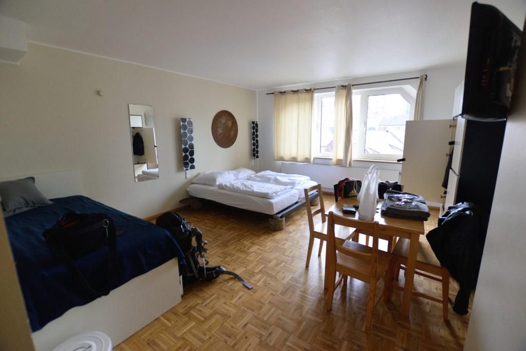 ファイブエレメンツホテル、室内