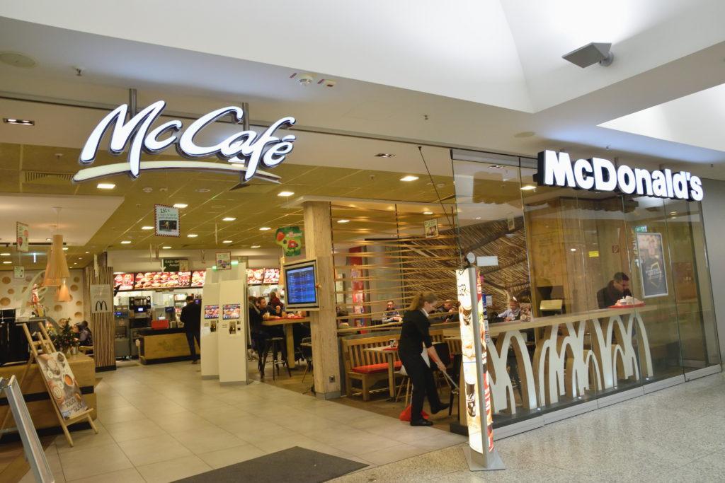 ハノーファー空港のマクドナルド