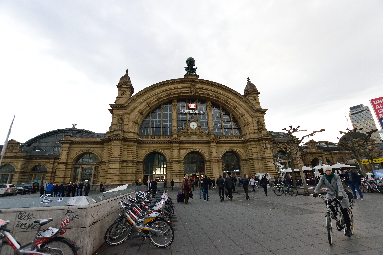 フランクフルト駅の外観