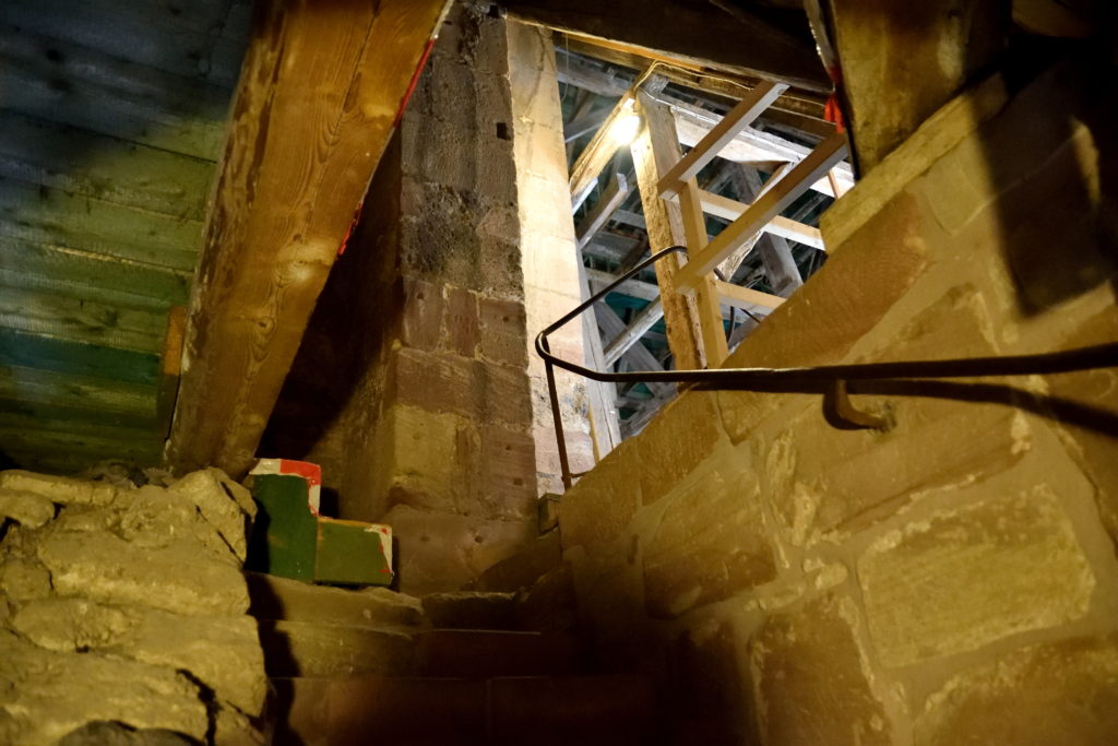 頂上への階段