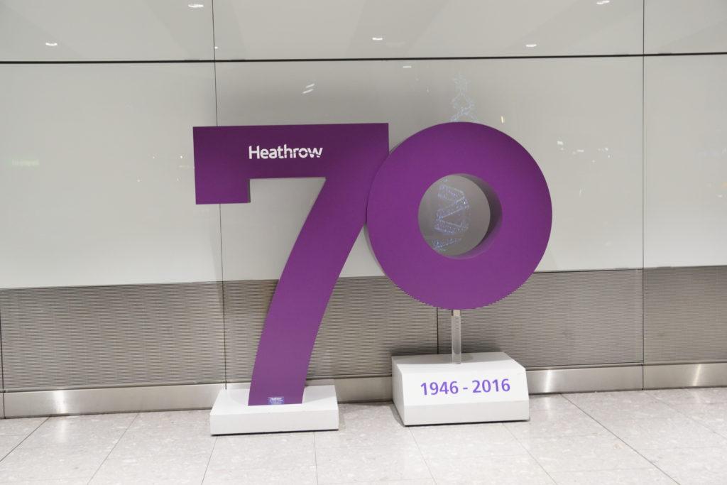 ヒースロー空港70周年