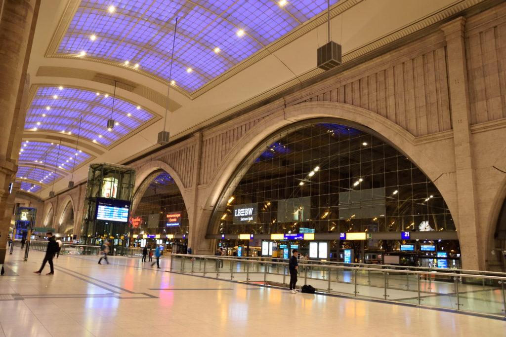 ライプツィヒ中央駅内装