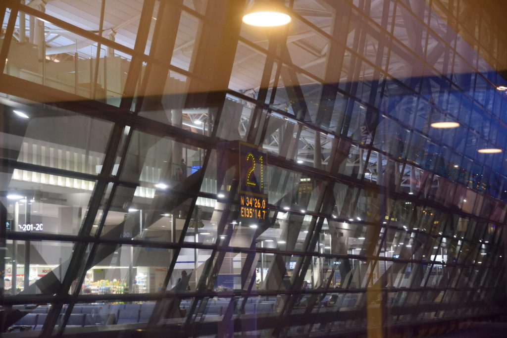 関西国際空港21番スポット