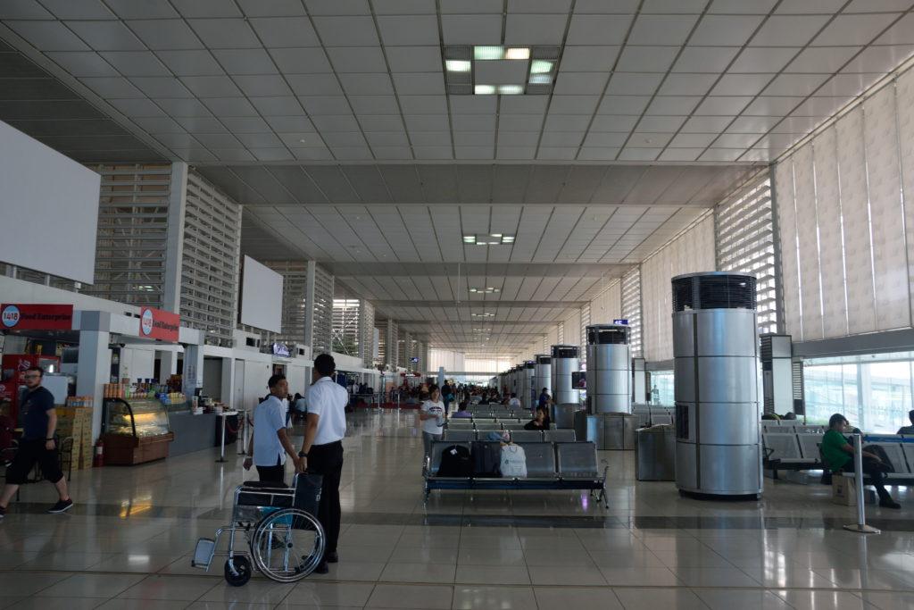 マニラ空港国内線保安区域