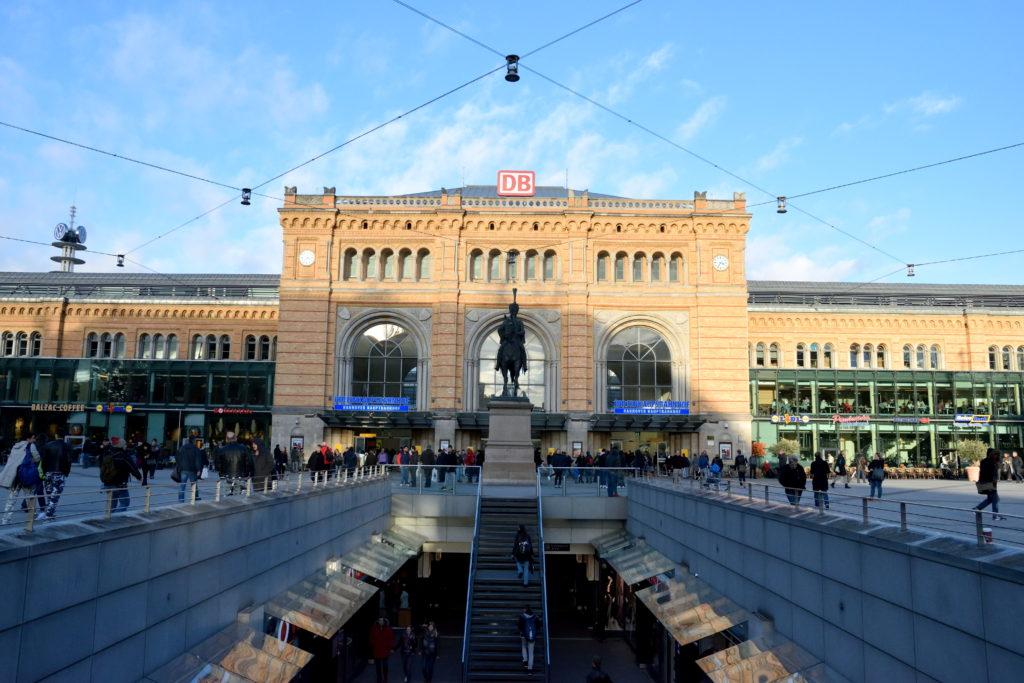 ハノーファー中央駅の外観