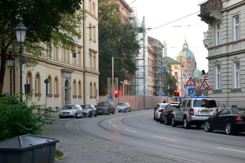 ミュンヘンの街並み