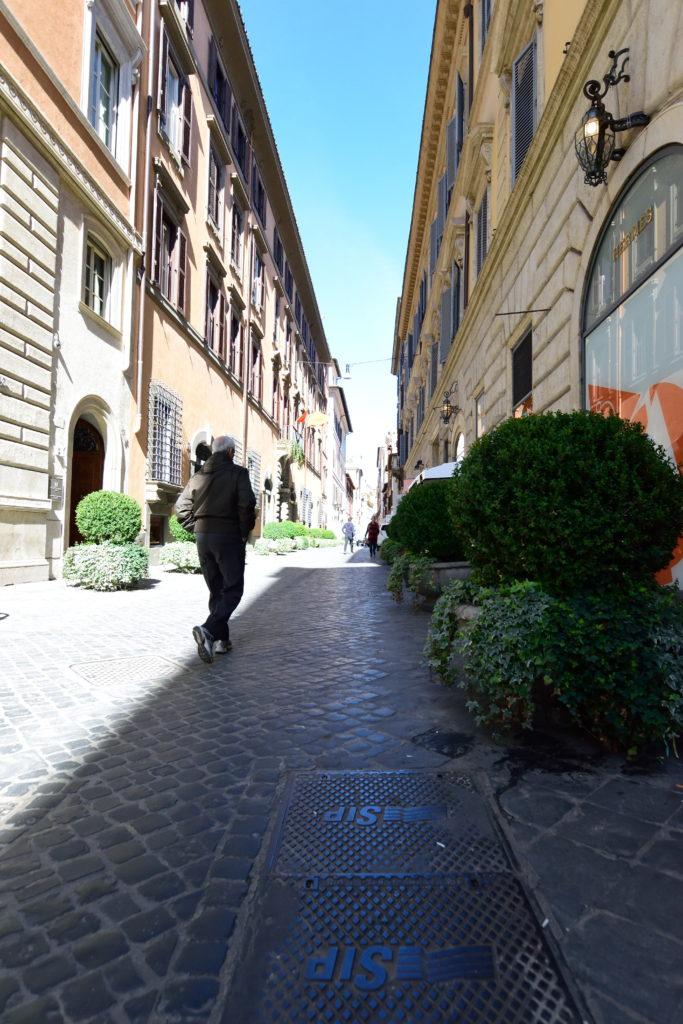 ローマの小道