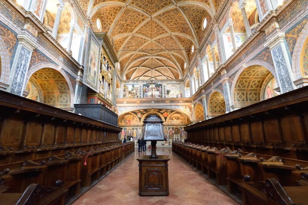 サンマウリツィオ教会の奥の部屋