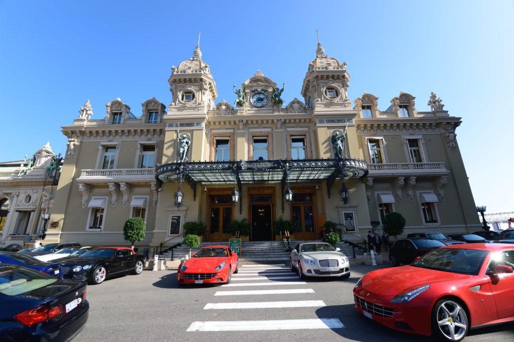 モナコのカジノの外観