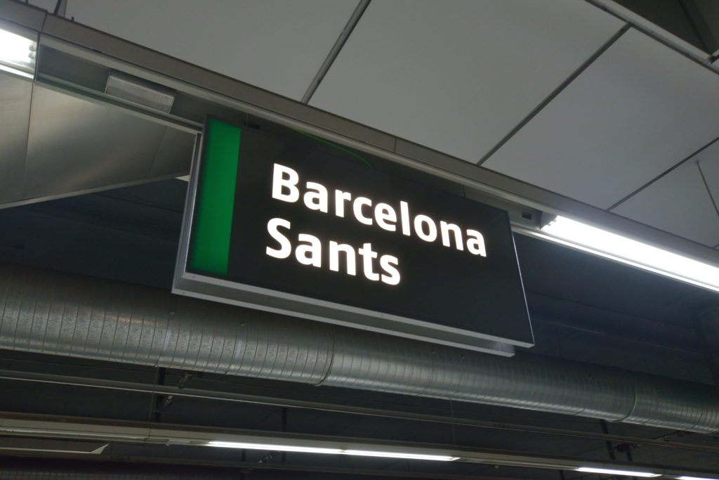 バルセロナサンツ駅