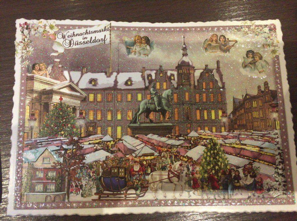デュッセルドルフのポストカード