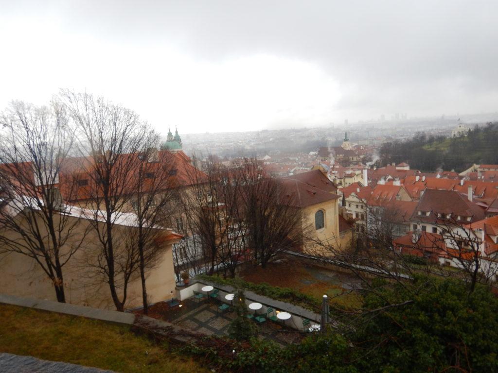 プラハの街の眺め