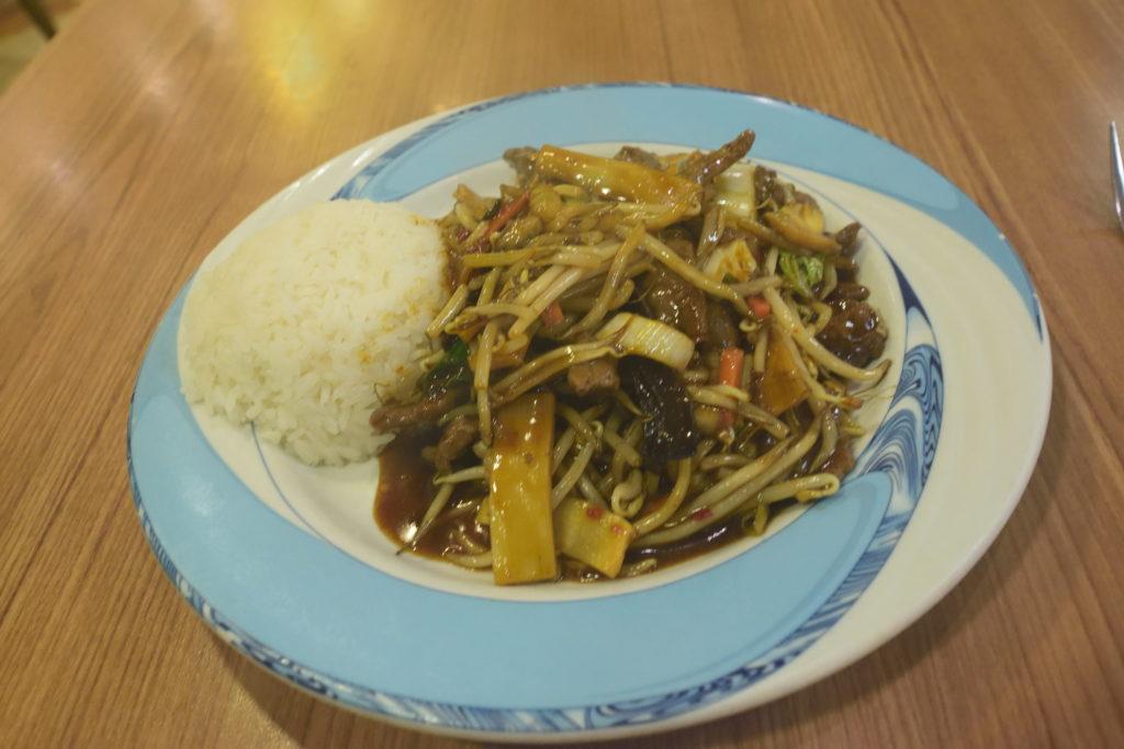 ハノーファー駅での中華料理