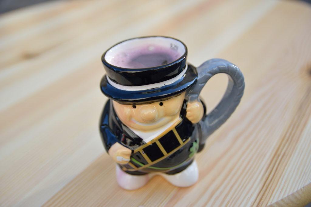 ウィーンの、ニューイヤーのグリューワインカップ