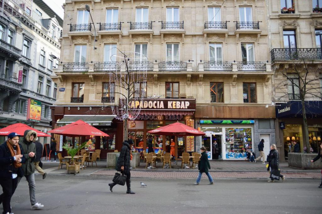 ブリュッセルのデュナー店