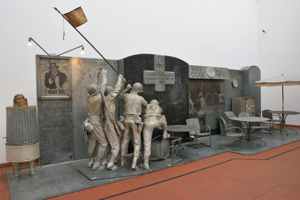 第2次世界大戦をモチーフにしたアート