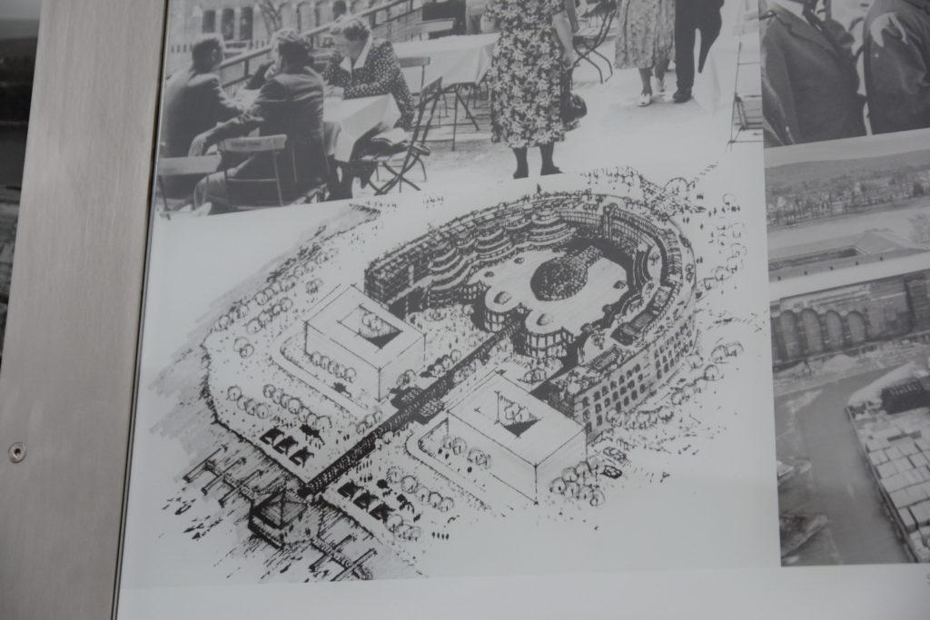 ナチ党大会会場の完成予想図