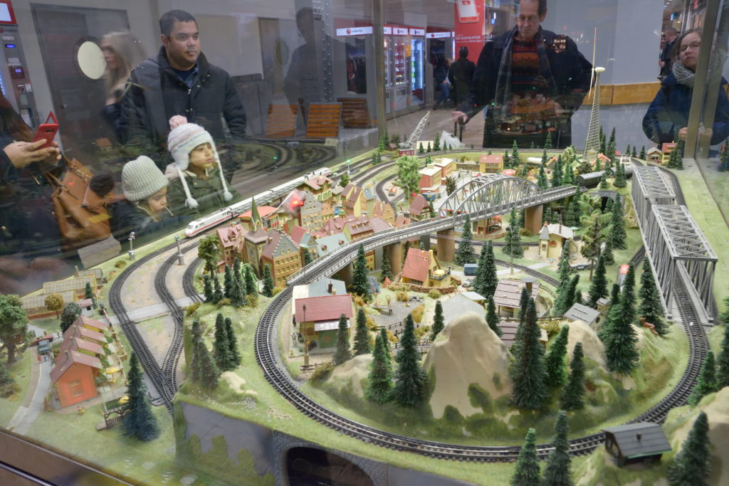 ケルン駅にあった鉄道模型