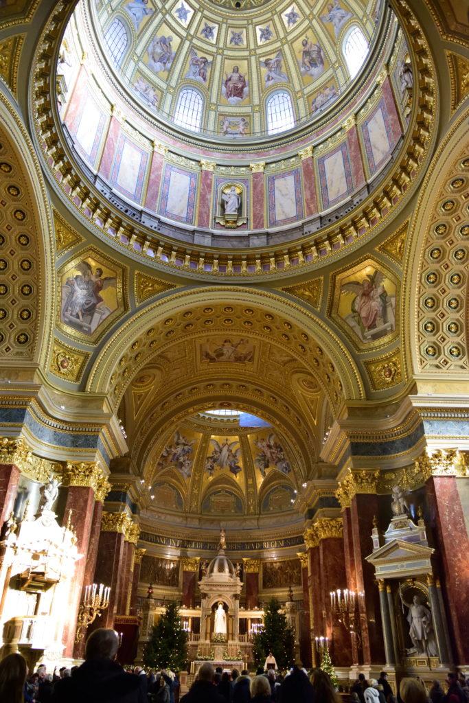 ブダペストの聖イシュトヴァーン大聖堂の装飾