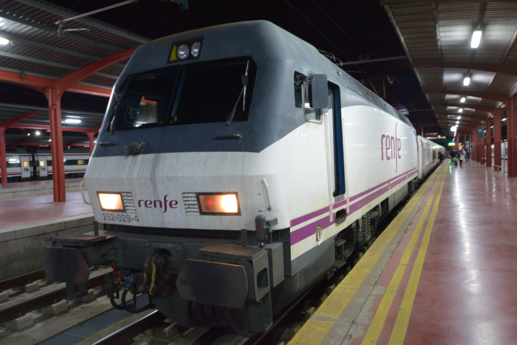 ヨーロッパの寝台列車
