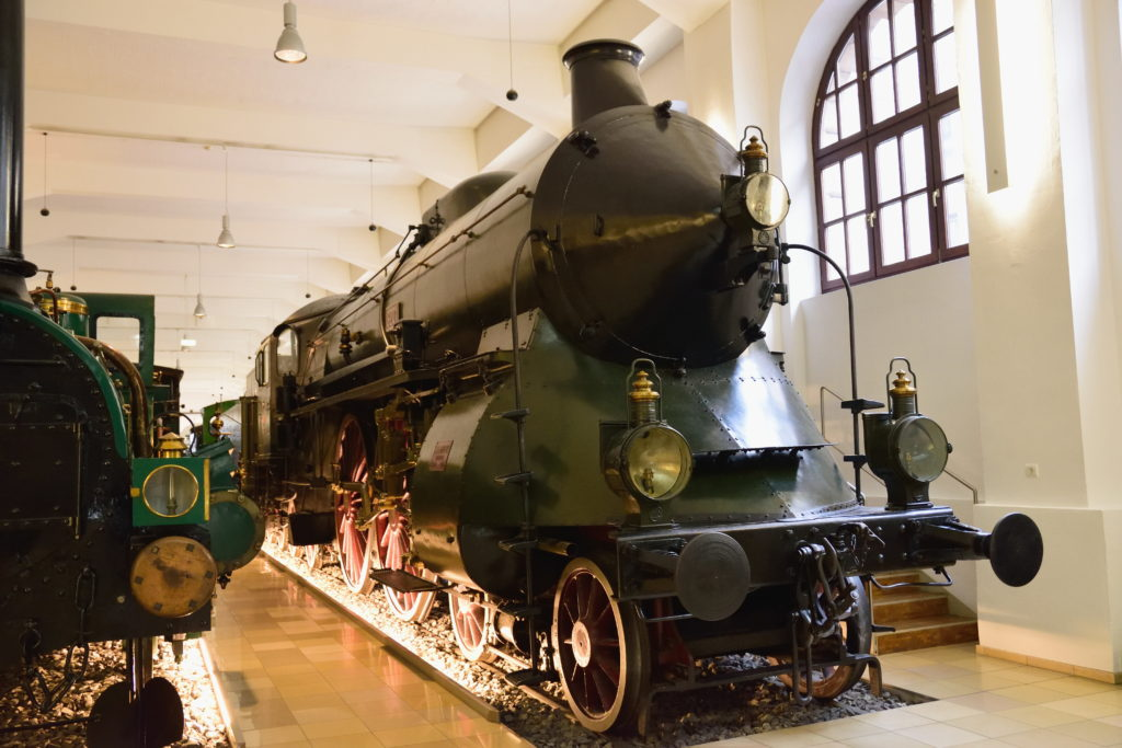 ドイツの蒸気機関車