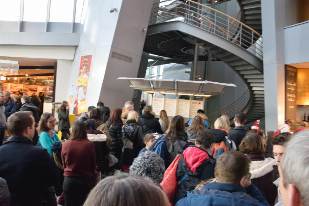 チョコレート博物館の入場口