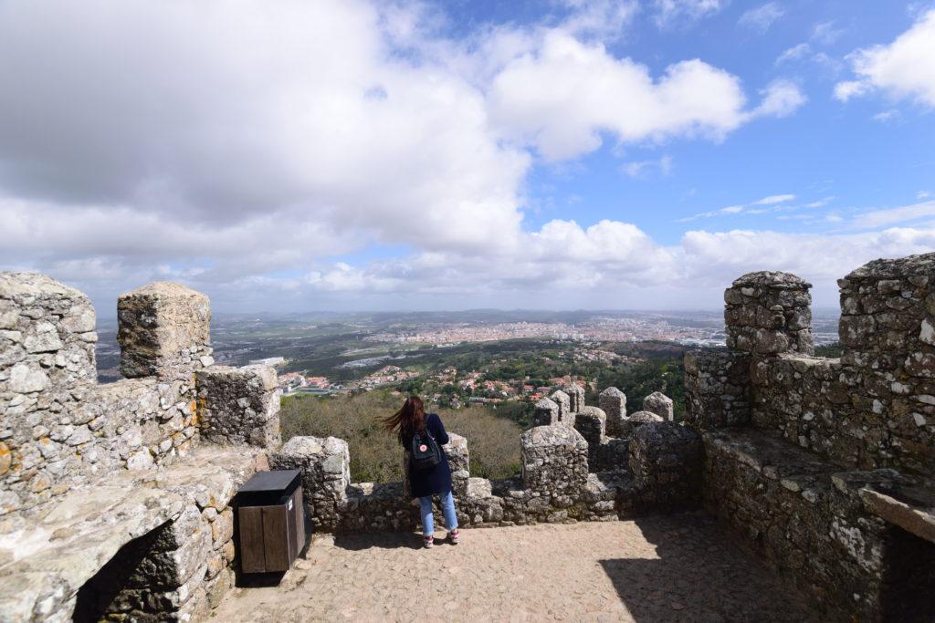 ムーア城壁からの景色