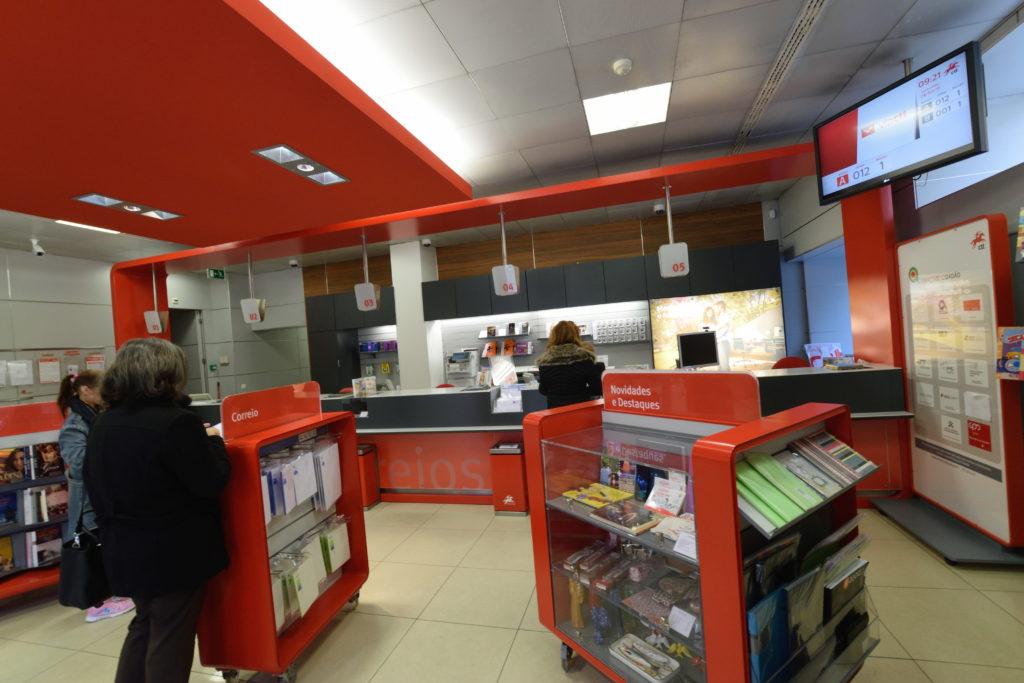 ポルトガル・リスボンの郵便局