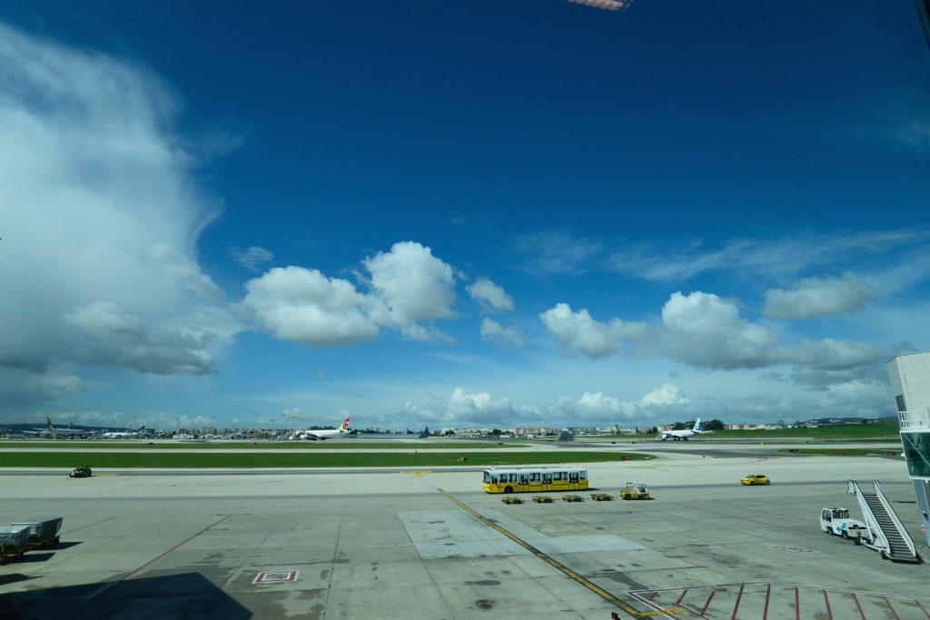 ポルテラ空港の様子